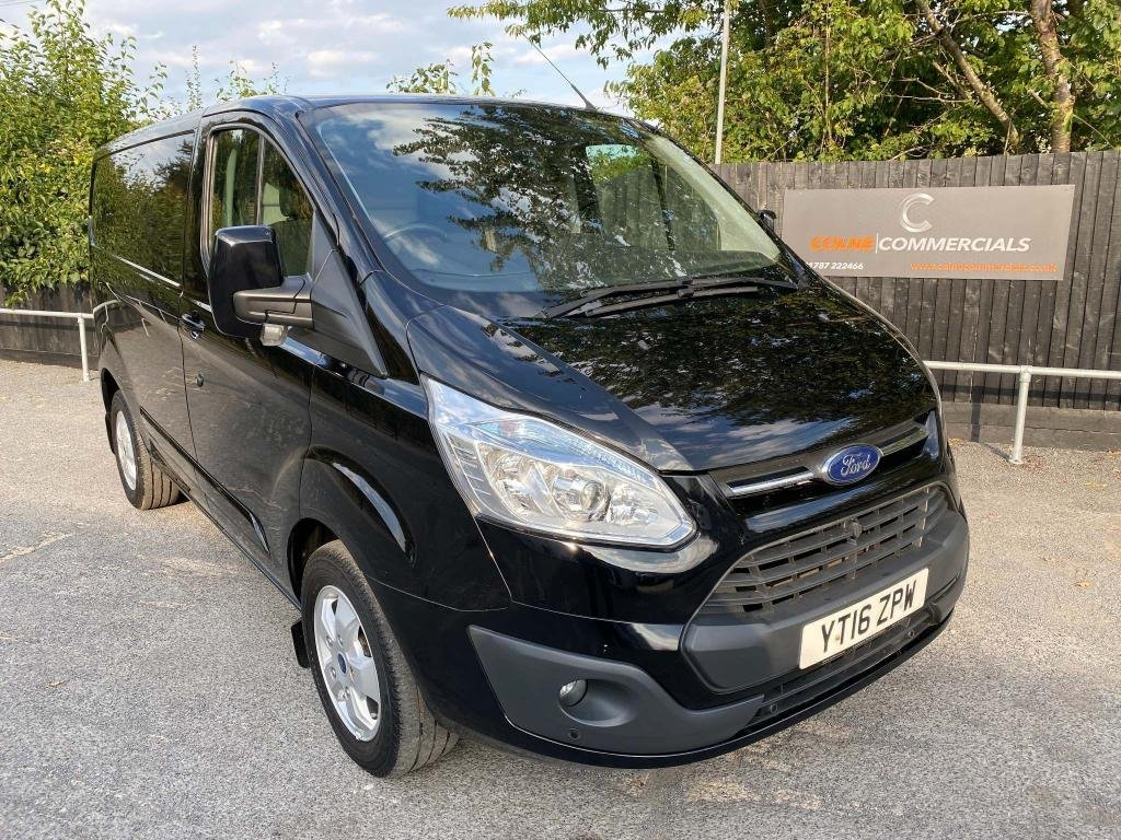 USED 2016 16 FORD TRANSIT CUSTOM 2.2 TDCi 270 Limited L1 H1 5dr **AIR-CON**HEATED SEATS**