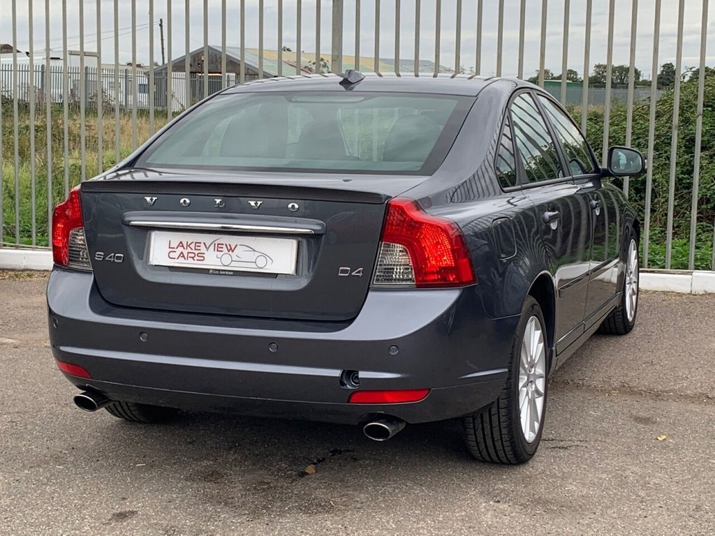 USED 2011 61 VOLVO S40 2.0 D4 SE LUX EDITION 4d 175 BHP