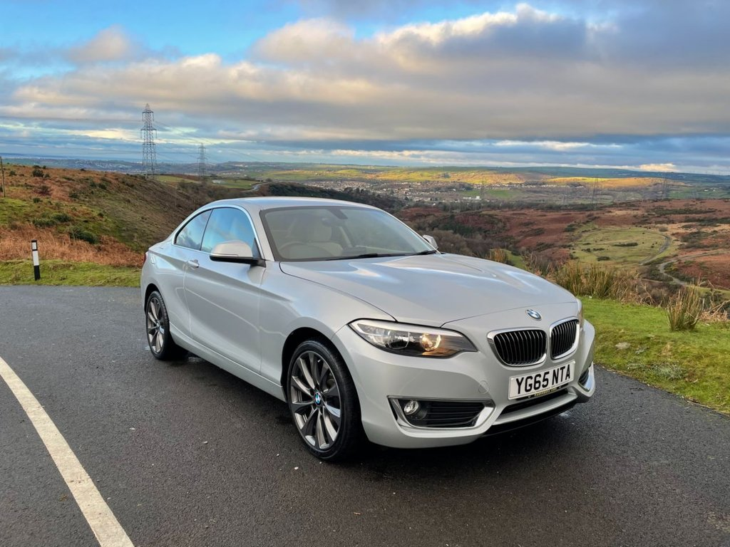 USED 2015 65 BMW 2 SERIES 2.0 220I LUXURY 2d 181 BHP