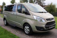 USED 2015 15 FORD TOURNEO CUSTOM 2.2 300 LIMITED TDCI 5d 124 BHP NO VAT TO PAY 9 SEATER LIMITED TOP SEPC LONG WHEEL BASE 12 MONTH MOT PLUS WARRANTY INCLUDED