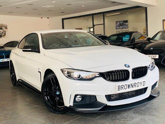 USED 2018 18 BMW 4 SERIES 2.0 420D M SPORT 2d 188 BHP BM PERFORMANCE STYLING+6.9%APR