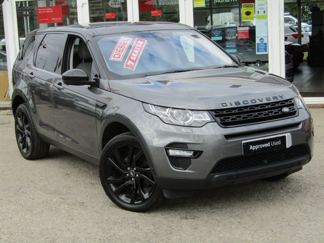 2016 16 LAND ROVER DISCOVERY SPORT 2.0 TD4 HSE LUXURY 5d 180 BHP
