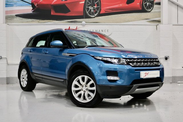 2014 64 LAND ROVER RANGE ROVER EVOQUE 2.2 SD4 PURE TECH 5d 190 BHP