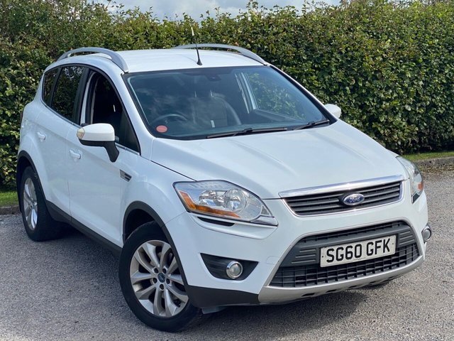 USED 2010 52 FORD KUGA 2.0 TITANIUM TDCI 2WD 5d 138 BHP JUST BEEN SERVICED, MOT SEPT 2021