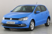 USED 2016 66 VOLKSWAGEN POLO 1.4 MATCH TDI 5d 74 BHP 1 OWNER | AIR CONDITIONING