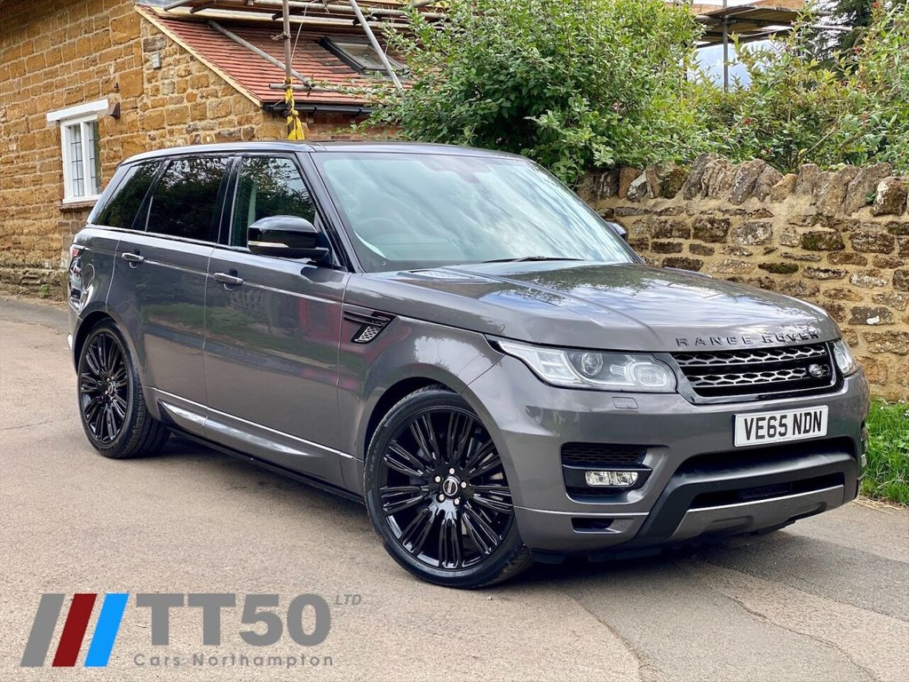 "USED 2015 65 LAND ROVER RANGE ROVER SPORT 3.0 SDV6 HSE DYNAMIC 5d 306 BHP PAN ROOF, NEW 22"" WHEELS, FSH, PCP £599.66 PCM WITH ZERO DEP"