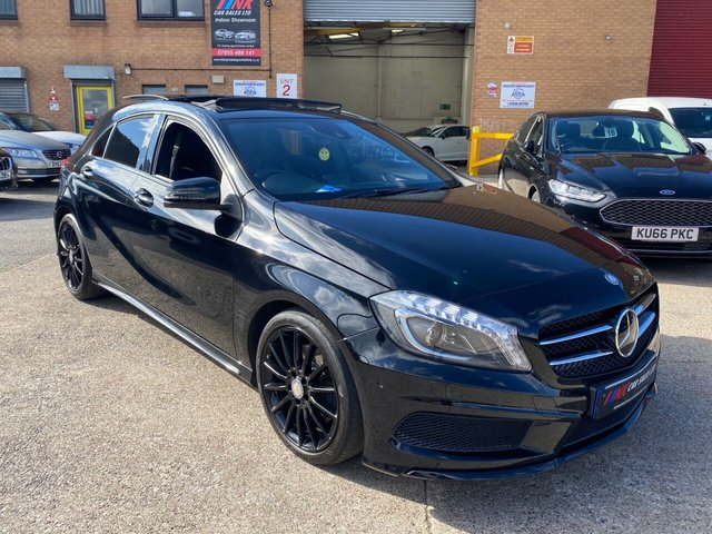 2013 13 MERCEDES-BENZ A-CLASS 2.1 A220 CDI BLUEEFFICIENCY AMG SPORT 5d 170 BHP PAN ROOF ,MEMORY PACK SEATS,SOLD TO MAX FROM LOUGHBOROUGH