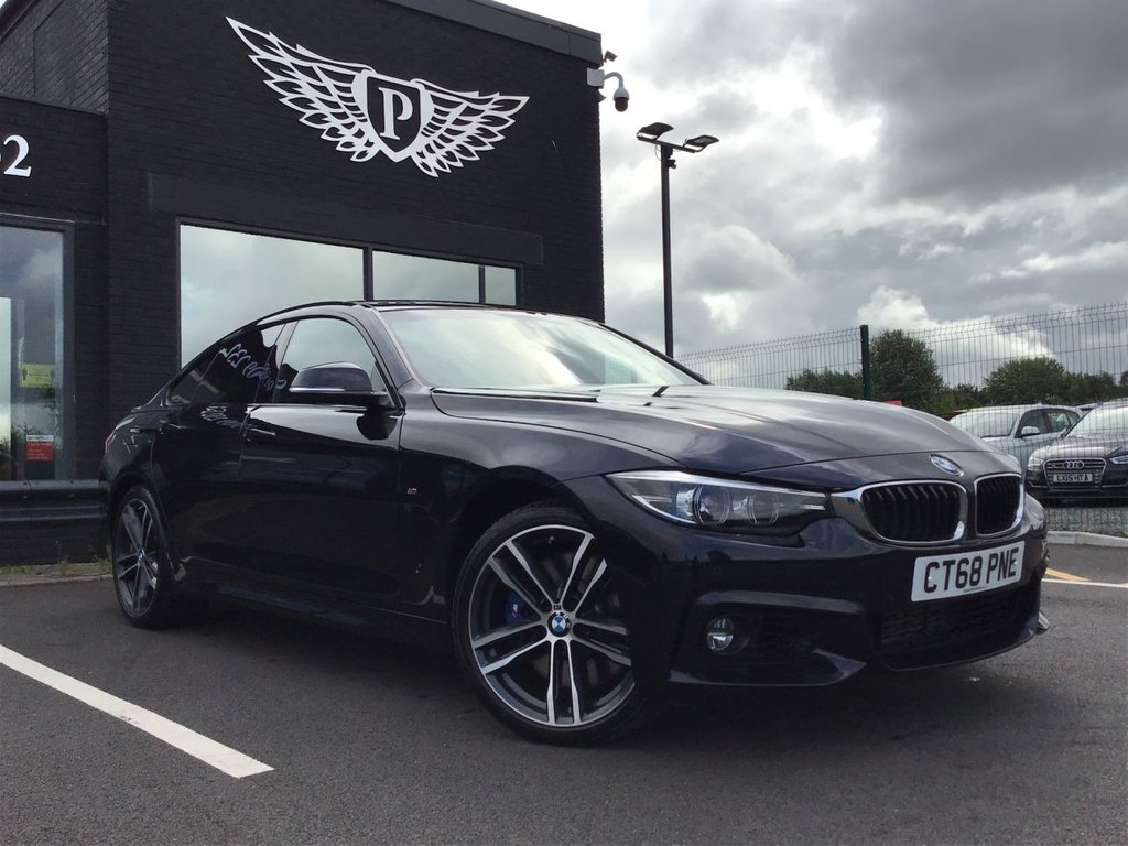 USED 2019 68 BMW 4 SERIES 3.0 435D XDRIVE M SPORT GRAN COUPE 4d 309 BHP (CATEGORY N)