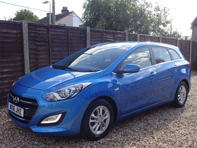 USED 2016 16 HYUNDAI I30 1.6 CRDi SE BLUE DRIVE TOURER *LOOK ONLY 1 OWNER FROM NEW* *SERVICE HISTORY*