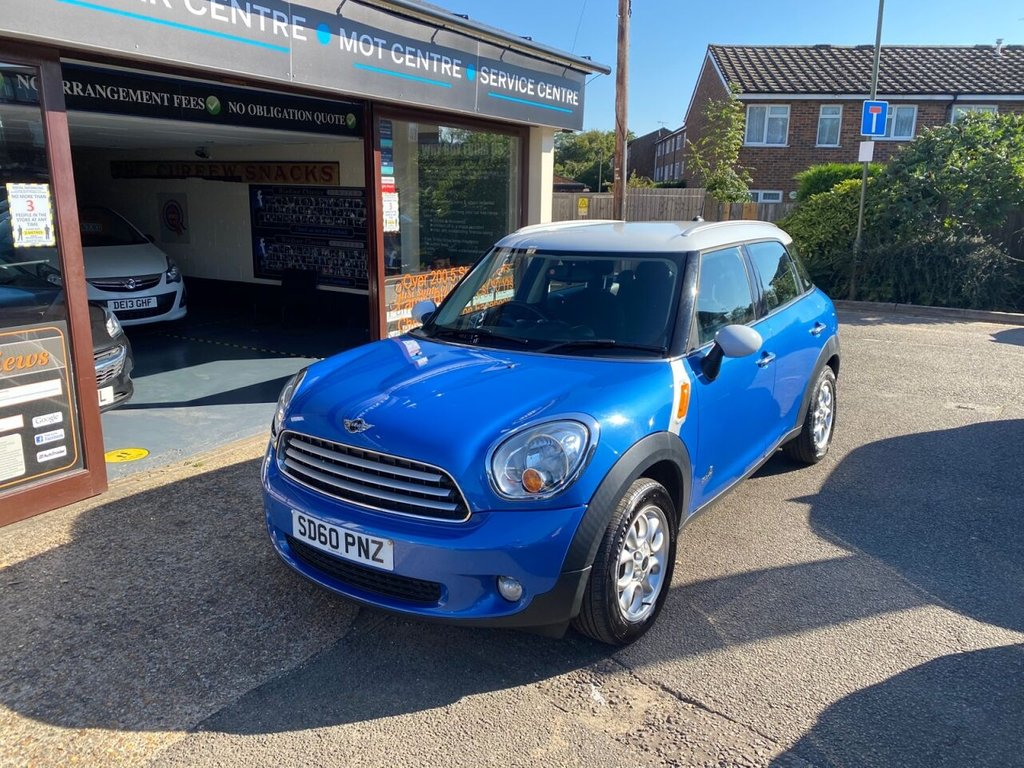 USED 2010 60 MINI COUNTRYMAN 1.6 COOPER D ALL4 5d 112 BHP SATNAV - BLUETOOTH - USB - AIRCON