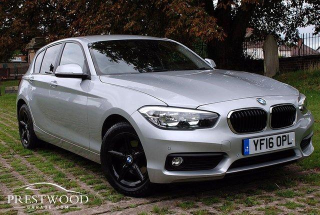 2016 16 BMW 1 SERIES 116d SE [NAV] STEP AUTO [116 BHP] 5 DOOR HATCHBACK