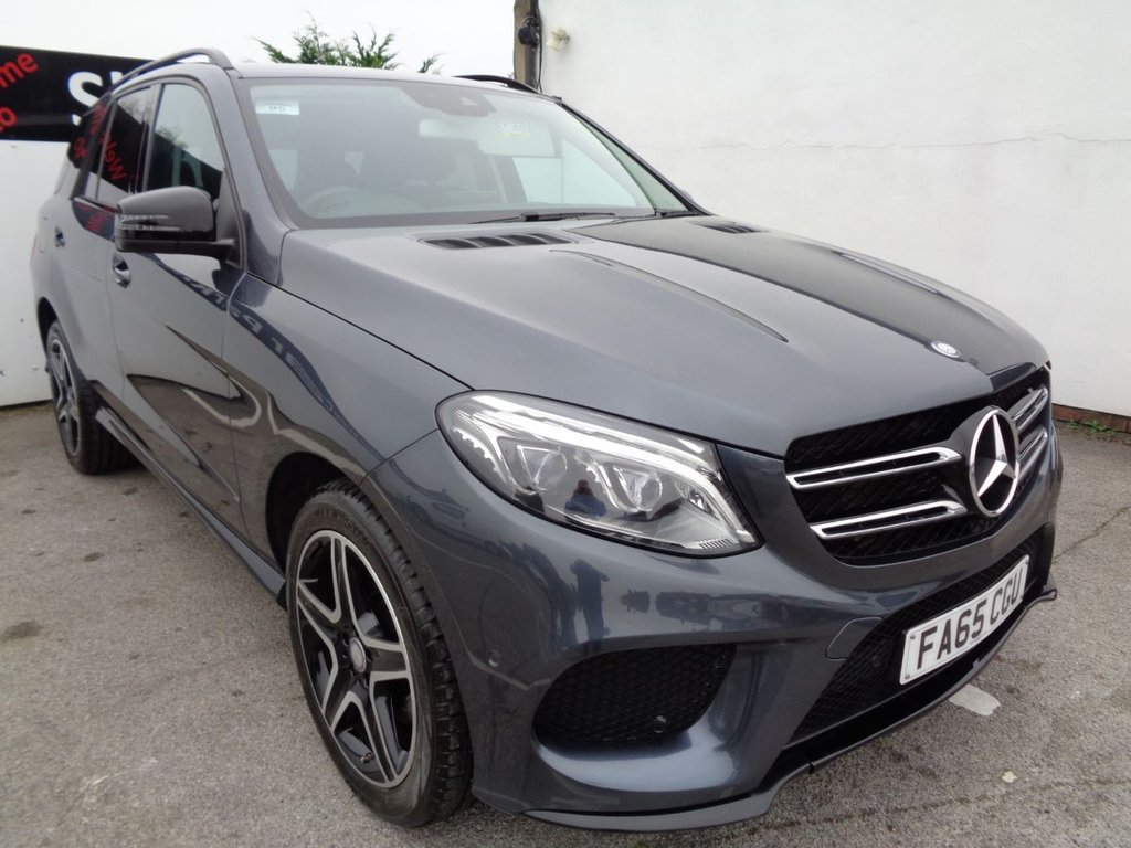 USED 2016 65 MERCEDES-BENZ GLE-CLASS 2.1 GLE 250 D 4MATIC AMG LINE 5d 201 BHP 20 Inc alloys Climate Control Full Leather trim Sat Nav Parking Sensors Parking sensors Privacy Glass