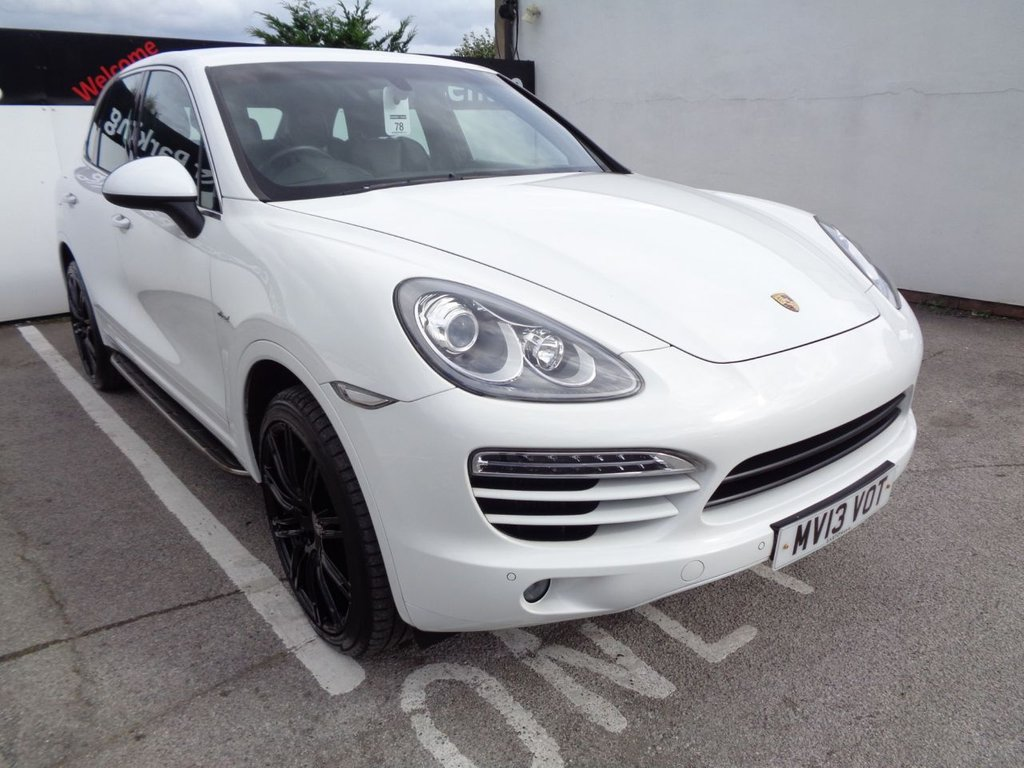 USED 2013 13 PORSCHE CAYENNE 3.0 D V6 TIPTRONIC 5d 245 BHP 21 Inc Alloys Climate Control Leather trim Sat Nav Parking Sensors