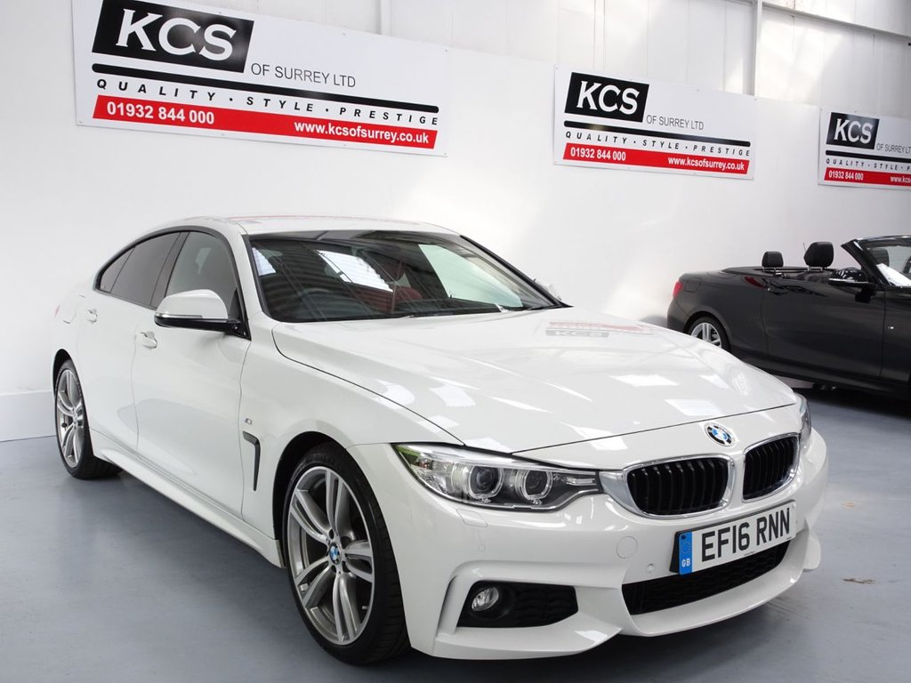 USED 2016 16 BMW 4 SERIES 2.0 420D M SPORT GRAN COUPE 4d 188 BHP PRO NAV - XENONS - HTD SEATS