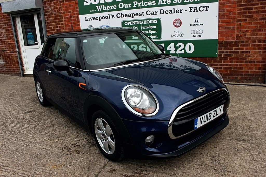 USED 2018 18 MINI HATCH COOPER 1.5 COOPER 3d 134 BHP +ONE OWNER +LOW MILES.