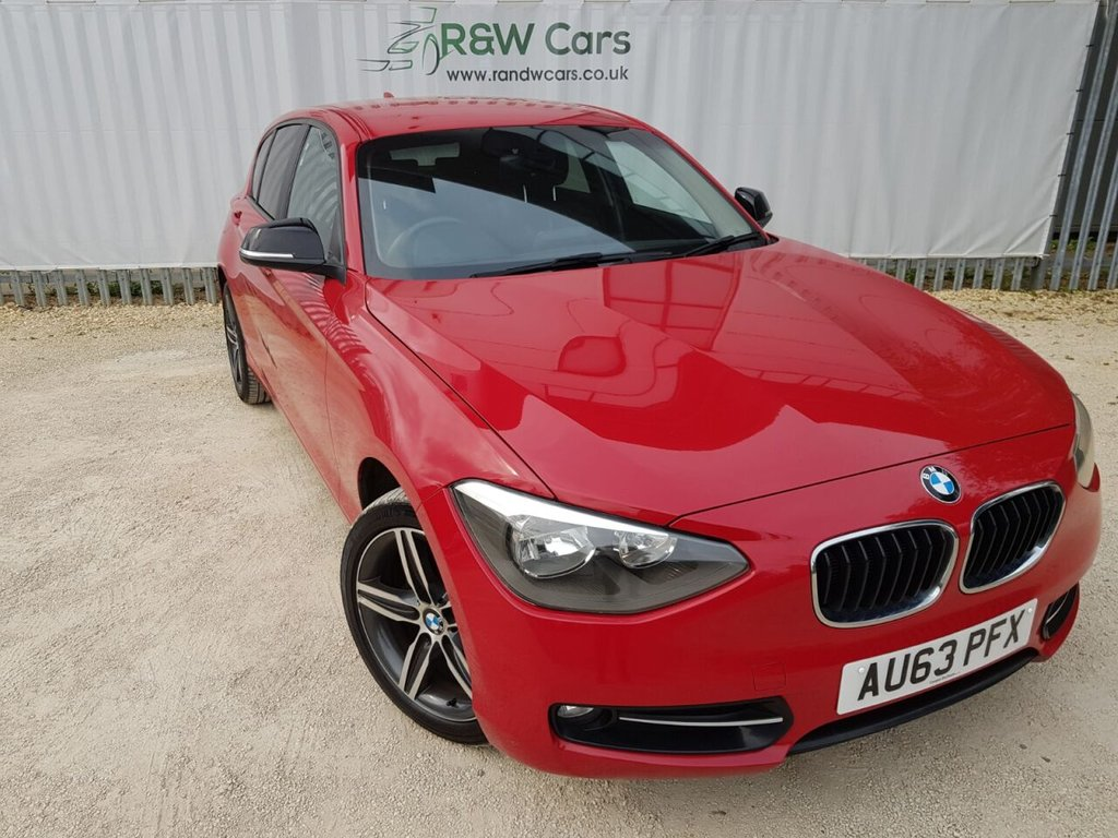 USED 2013 63 BMW 1 SERIES 2.0 116D SPORT 5d 114 BHP