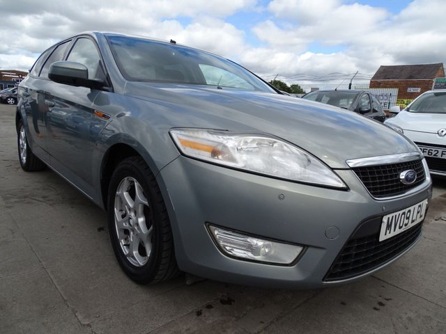 USED 2009 09 FORD MONDEO 2.0 ZETEC TDCI 5d 140 BHP AUTOMATIC ESTATE