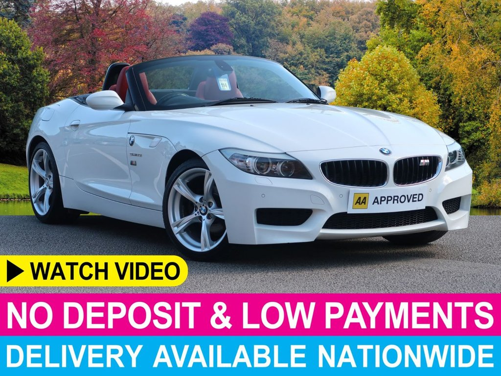 """USED 2013 62 BMW Z4 2.0 sDrive M Sport Roadster Convertible Power Roof Leather 18"""" Alloys"""