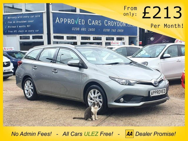 USED 2018 67 TOYOTA AURIS 1.8 VVT-I ICON TECH TOURING SPORTS 5d 135 BHP