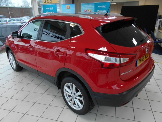 USED 2016 66 NISSAN QASHQAI 1.5 N-CONNECTA DCI 5d 108 BHP FULL NISSAN SERVICE HISTORY