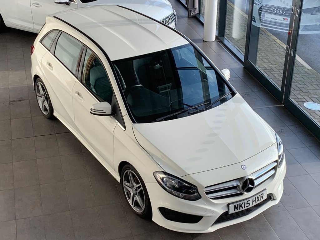 USED 2015 15 MERCEDES-BENZ B-CLASS 2015/15 - 1.5 B180 CDI AMG LINE 5d 107 BHP + 67.3 MPG + AUTOMATIC + �£20 R/TAX + ONLY GROUP 12 INSURANCE + LOW MILEAGE + 38K