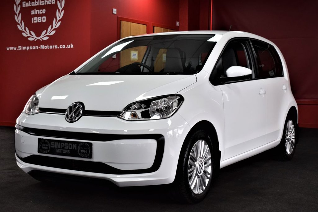USED 2018 18 VOLKSWAGEN UP 1.0 MOVE UP BLUEMOTION TECHNOLOGY 5d 60 BHP