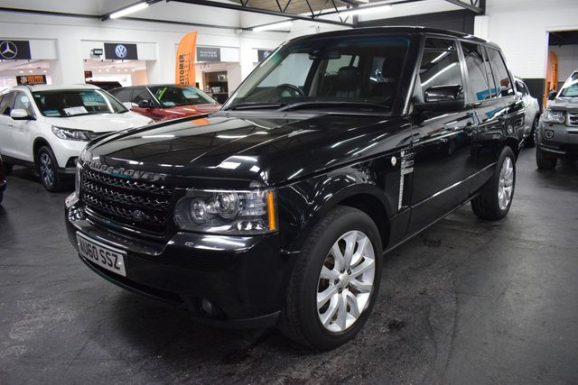 USED 2010 60 LAND ROVER RANGE ROVER 3.6 TDV8 VOGUE 5d 271 BHP LOVELY CONDITION - FACELIFT 3.6 TDV8 VOGUE - 7 STAMPS TO 99K - LEATHER - NAV - TV - AUX HEATE - PRIVACY - WESTMINSTER ALLOYS
