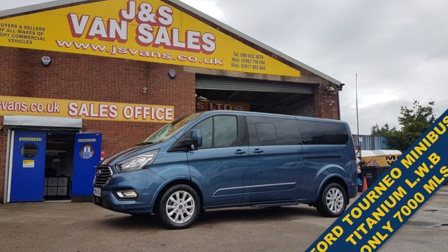 USED 2018 18 FORD TOURNEO CUSTOM 2.0 310 TITANIUM L.W.B TOP MODEL ( 7000 MLS ONLY ) MINIBUS #### ONLY 7000 MLS YES 7K MLS ONLY ####