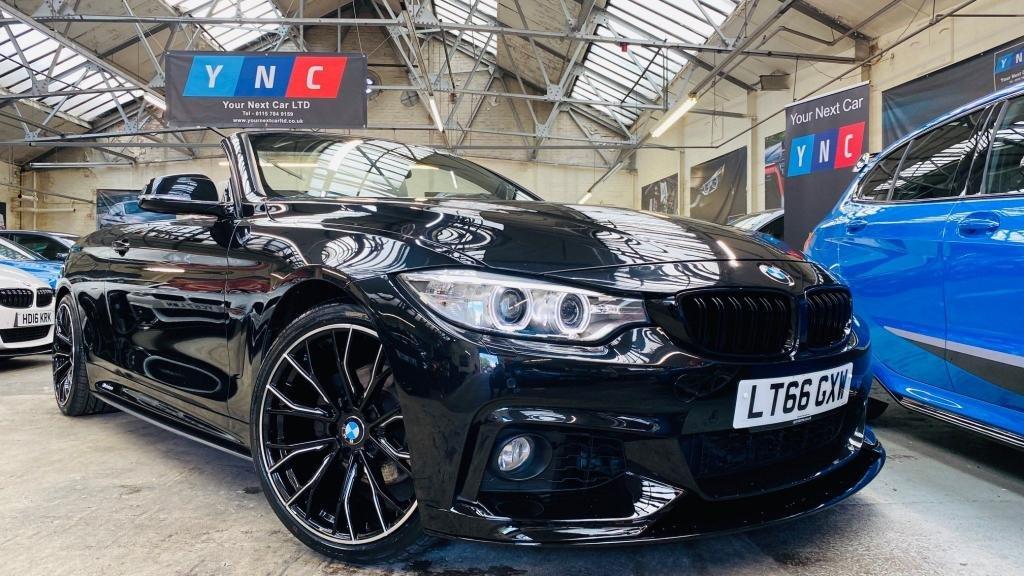 USED 2016 66 BMW 4 SERIES 2.0 420d M Sport 2dr PERFORMANCEKIT+20S+HTDLTHR