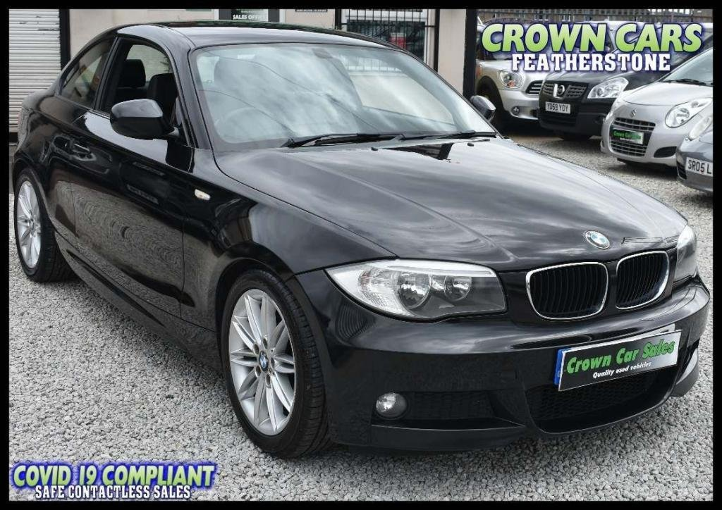 USED 2011 61 BMW 1 SERIES 2.0 120d M Sport 2dr AMAZING LOW RATE FINANCE DEALS