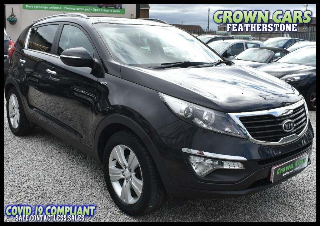 USED 2011 61 KIA SPORTAGE 2.0 KX-2 AWD 5dr AMAZING LOW MILEAGE AUTOMATIC