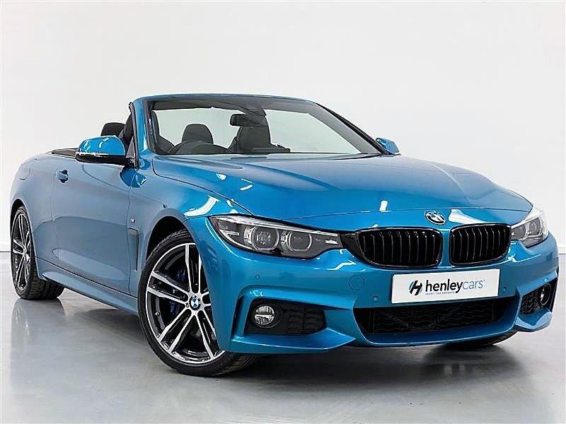 USED 2017 17 BMW 4 SERIES 3.0 440I M SPORT