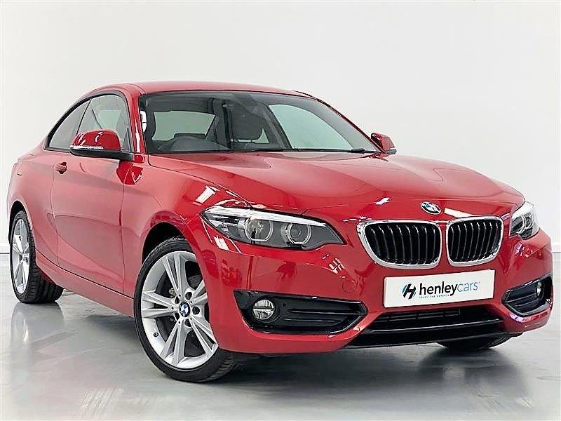 USED 2018 68 BMW 2 SERIES 1.5 218I SPORT