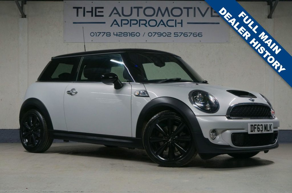 USED 2014 63 MINI HATCH COOPER 1.6 COOPER S 3d 184 BHP Awesome hot hatch!
