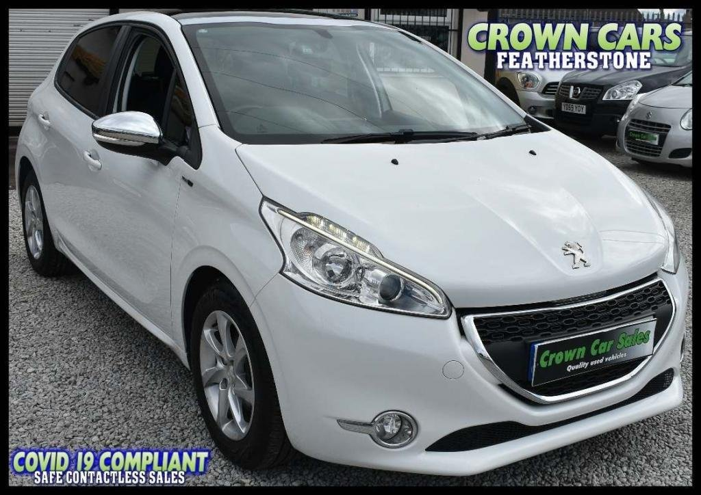 USED 2014 64 PEUGEOT 208 1.2 VTi Style 5dr AMAZING LOW RATE FINANCE DEALS