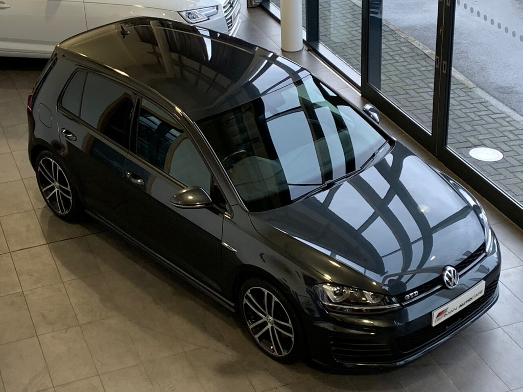 USED 2016 16 VOLKSWAGEN GOLF 2016/16 - 2.0 GTD DSG 5d 182 BHP + AUTOMATIC + �£545 EXT METALLIC PAINT + 62.8 MPG