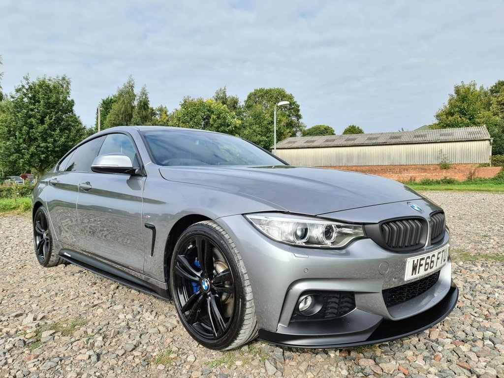 USED 2016 66 BMW 4 SERIES 3.0 440I M SPORT GRAN COUPE 4d AUTO 322 BHP COUPE