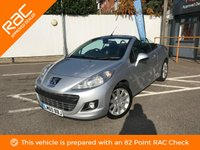 USED 2010 60 PEUGEOT 207 1.6 HDI CC GT 2d 112 BHP LEATHER, NEW MOT, RAC APPROVED