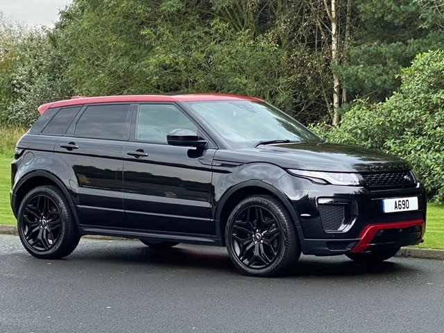 USED 2016 66 LAND ROVER RANGE ROVER EVOQUE 2.0 TD4 EMBER SPECIAL EDITION 5d 177 BHP Limited Edition 9 Speed Auto