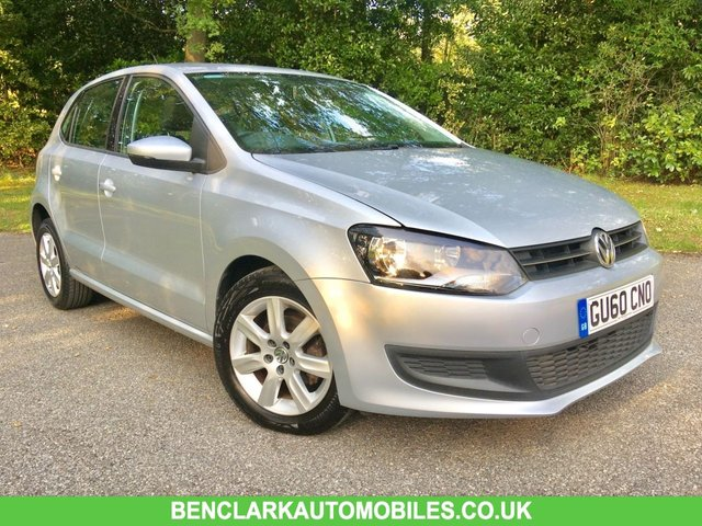 2010 60 VOLKSWAGEN POLO 1.4 SE DSG 5d AUTO 85 BHP ONLY 17,744 MILES /1 OWNER / X11 VW MAIN DEALER STAMPS