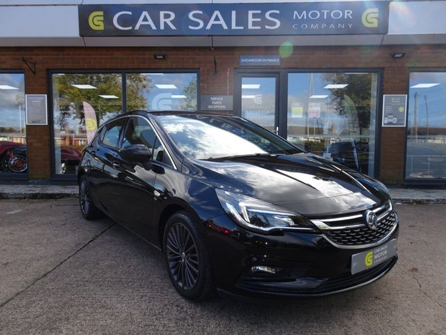 USED 2018 68 VAUXHALL ASTRA 1.6 ELITE NAV S/S 5d 198 BHP ONE OWNER FROM NEW, SAT NAV, FULL VAUXHALL SERVICE HISTORY, FANTASTIC SPECIFICATION, CLEAN CAR INSIDE AND OUT, FIRST TO SEE WILL BUY - 5 STAR RATED DEALERSHIP - BUY WITH CONFIDENCE