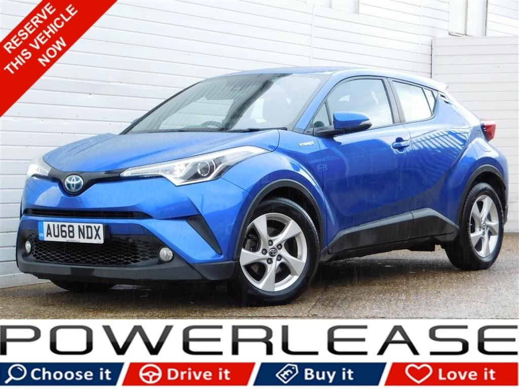 USED 2018 68 TOYOTA CHR 1.8 ICON 5d 122 BHP 1 OWNER FULL SERVICE HISTORY