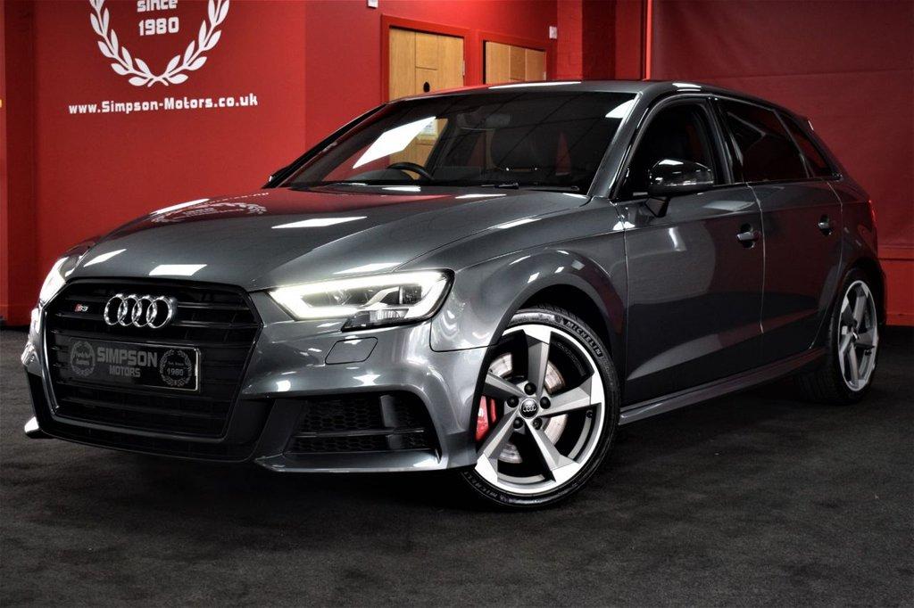 2017 Audi S3 S3 Sportback Tfsi Quattro Black Edition