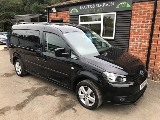 View our VOLKSWAGEN CADDY MAXI LIFE C20 DIESEL ESTATE