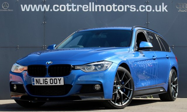 2016 16 BMW 3 SERIES 3.0 335D XDRIVE M SPORT TOURING 5d 308 BHP [ M PERFORMANCE }