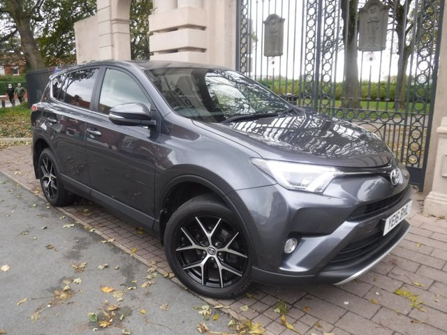 USED 2016 16 TOYOTA RAV4 2.0 D-4D ICON 5d 143 BHP 1 OWNER*PART LEATHER*CRUISE*SERVICE HISTORY*BLUETOOTH*