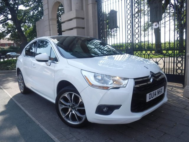 USED 2014 14 CITROEN DS4 1.6 E-HDI AIRDREAM DSTYLE 5d 115 BHP £30 TAX*PART LEATHER*CRUISE*REAR PARKING SENSORS*BTOOTH