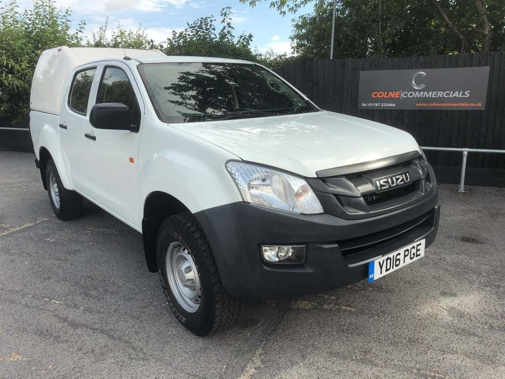 USED 2016 16 ISUZU D-MAX 2.5 TD Double Cab Pickup 4x4 4dr ***3.5TON TOWING CAPACITY***