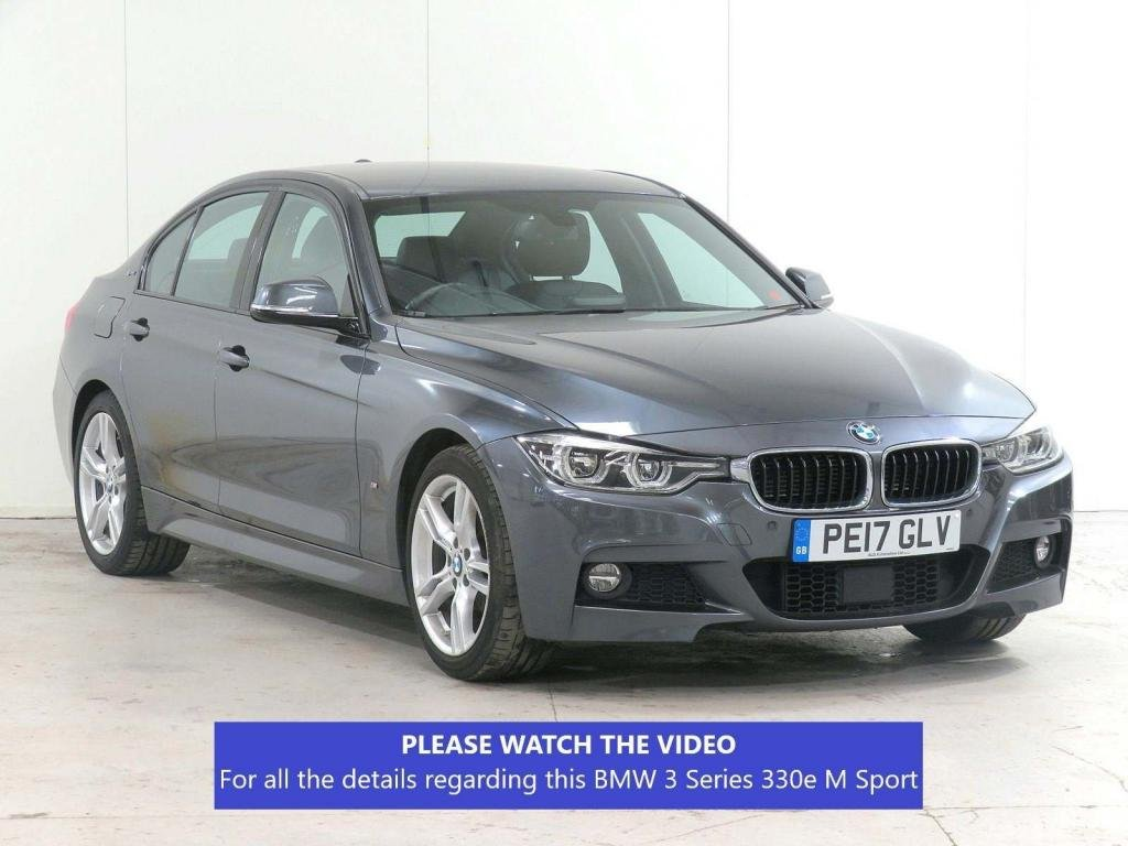 USED 2017 17 BMW 3 SERIES 2.0 330e 7.6kWh M Sport Auto (s/s) 4dr ACTIVE-CRUISE*HEAT-SEATS*VAT-Q
