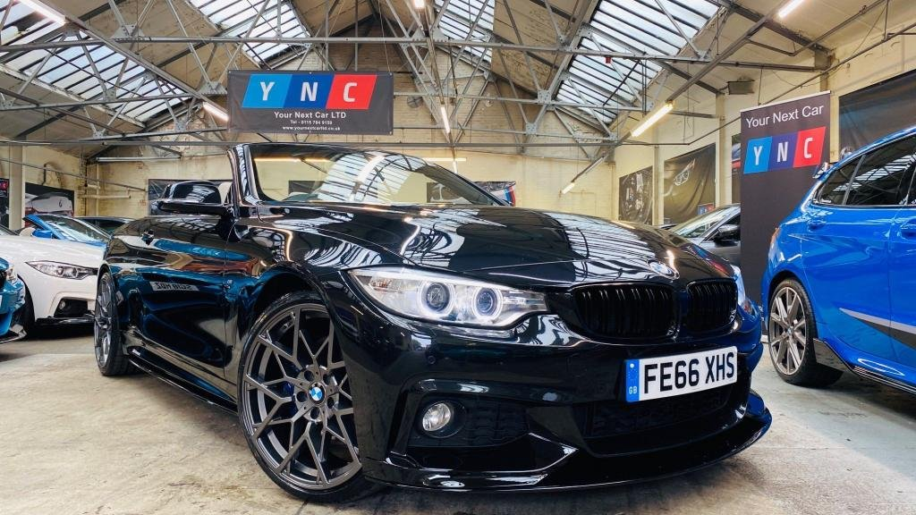 USED 2016 66 BMW 4 SERIES 2.0 420d M Sport 2dr PERFORMANCEKIT+PLUS&COMFORTPAK